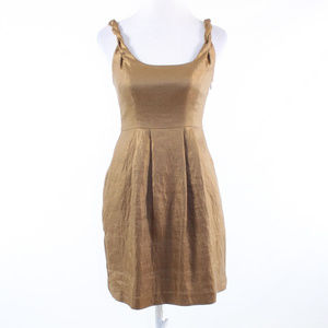 Yoana Baraschi gold sun dress 2